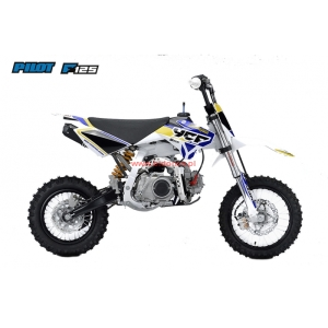 Pit Bike YCF PILOT F125 WHITE Limited